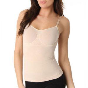 camisole shapewear nude with underwire bra