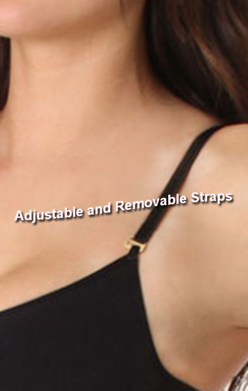adjustable and removable straps